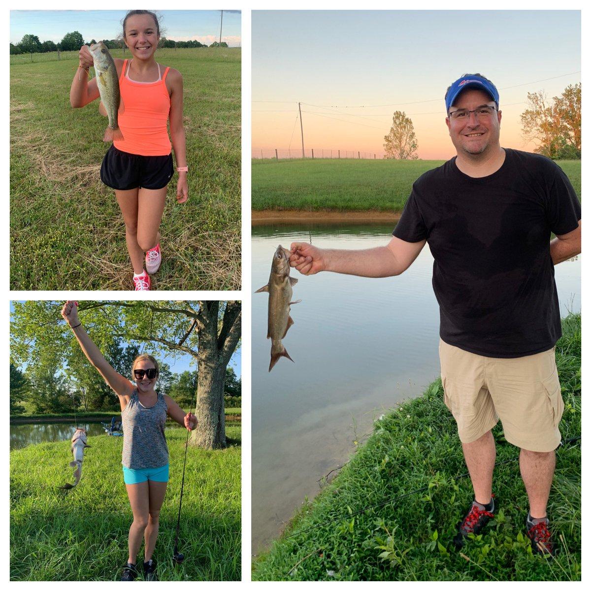 My girls were killing it at the pond last night!  I've taught them well!<br>http://pic.twitter.com/sI0pfN0qzW