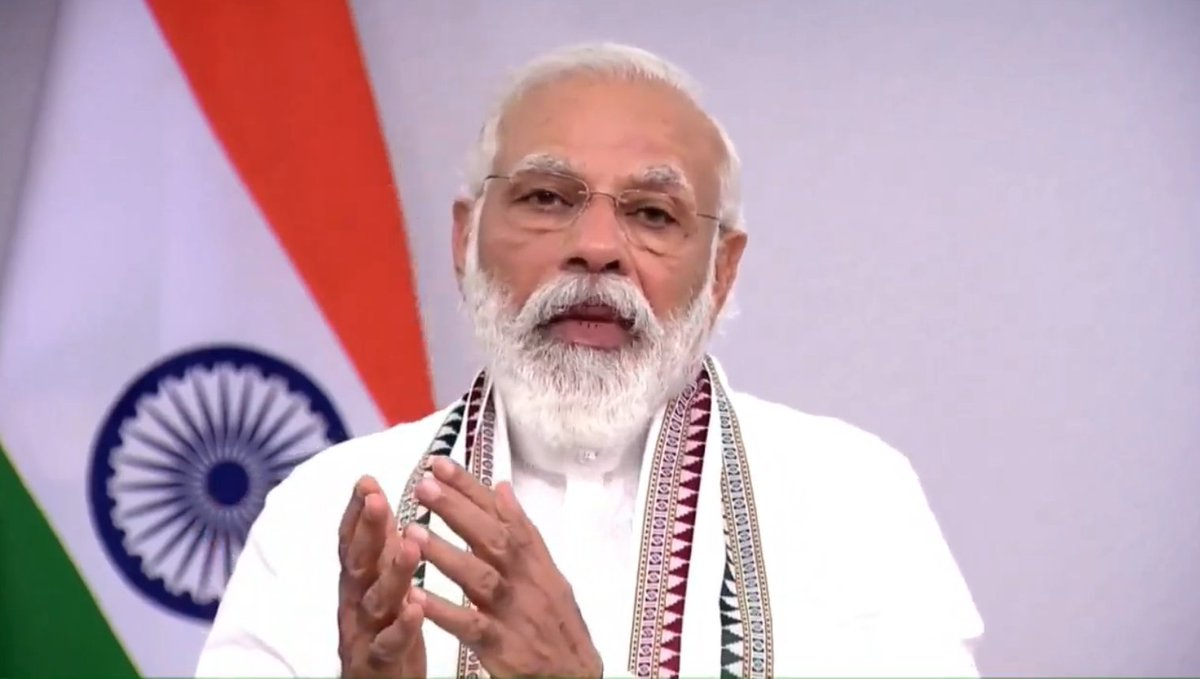 Bright young minds are finding solutions to global problems. India has one of the largest start-up ecosystems in the world: PM Shri @narendramodi https://t.co/72wPZKoHsi