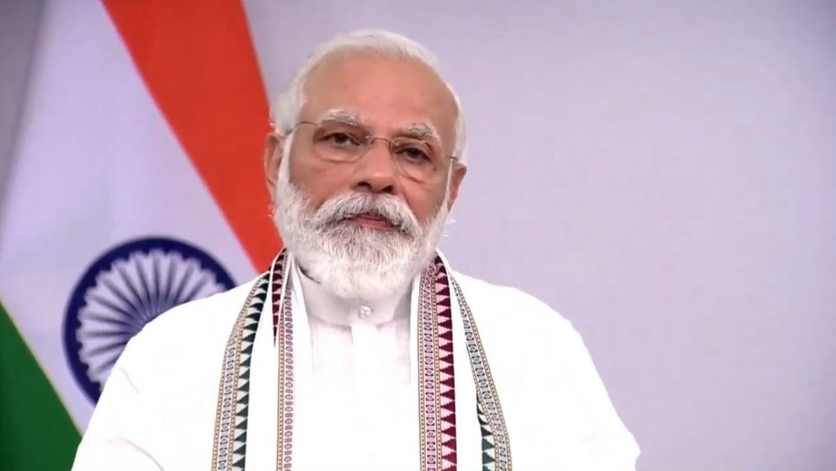 It is the need of the hour to connect as many people with Buddhist heritage sites. We, in India, have many such sites.   You know how people know my Parliamentary constituency of Varanasi? As the home to Sarnath. We want to connect on connectivity to Buddhist sites: PM https://t.co/MTMzIiZ8El