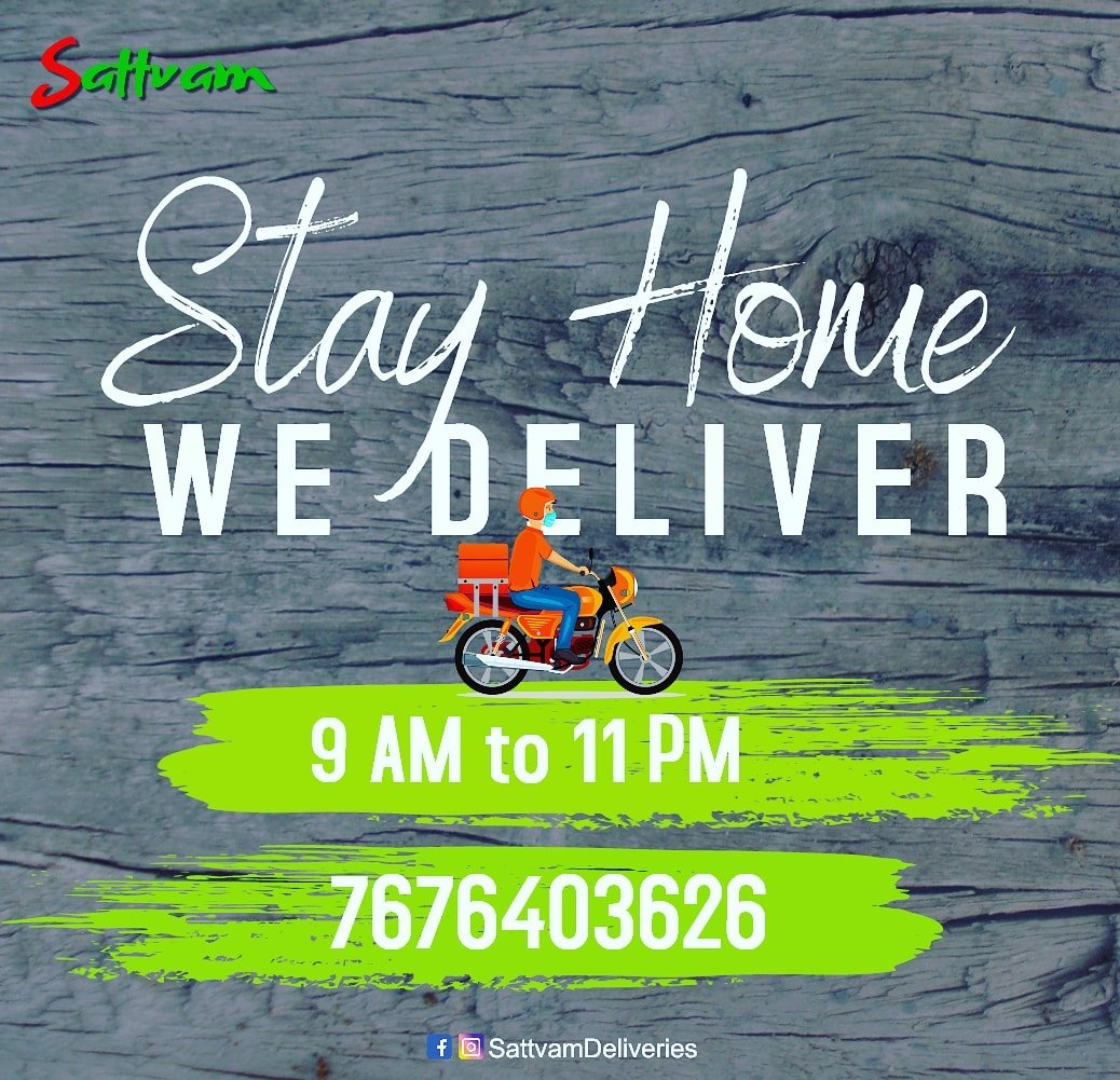 Cherish the rains with pakodas or any any of your favorite food..  Order from your favorite restaurants via #SATTVAM  Order Now: https://t.co/A475rXq5an  #foodies #foodsafety #StayHome #StayHomeStaySafe  #kanakpuraroad #sattvam #wedeliver https://t.co/qIUZyWo7mp