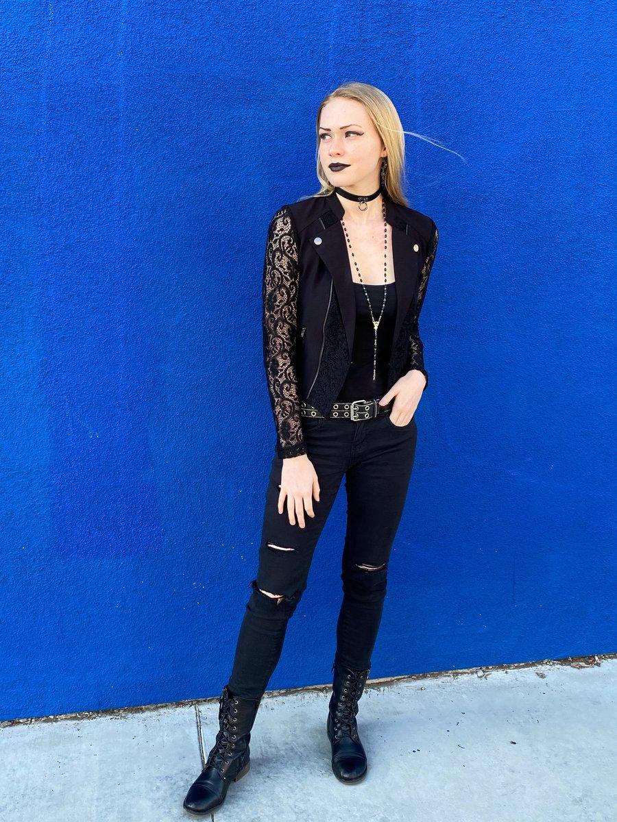 My wardrobe for an upcoming role  #thebridge #virtualplay #theater #zoom #youtube #live #goth #gothic #alternative #metalhead #rocknroll #spreadlove #hope #comingsoonpic.twitter.com/cr068RhTXn