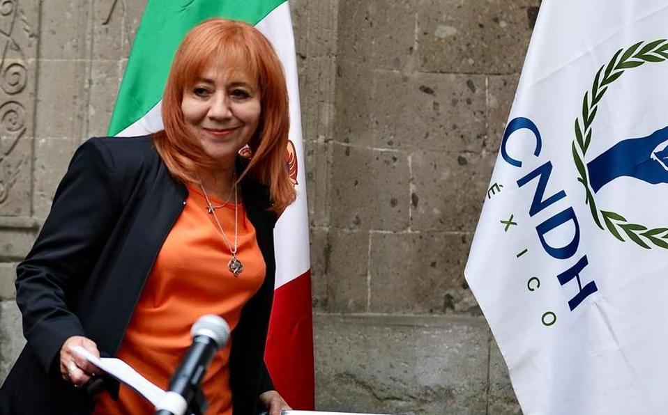 Hoogste #mensenrechten functionaris van #Mexico wordt bedreigd  Bedreigingen begonnen nadat #RosarioPiedra Ibarra aandacht vroeg voor zaak door politie doodgeslagen jongeman #GiovanniLópez @CNDH @RosarioPiedraIb https://t.co/VC0zyn1sKg https://t.co/K46ioKcStU