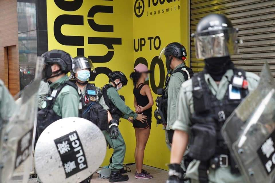 #HKprotests is a fight for freedom vs tyranny, common sense vs lies.  Suspicious disappearance, death, rape. People go shopping, running, or daily lives as usual on 1 July 2020. Shot journalists ?  male search female? Pls #StandWithHongKong thx https://t.co/L3aPe5rjxb https://t.co/wz9UxbASvR