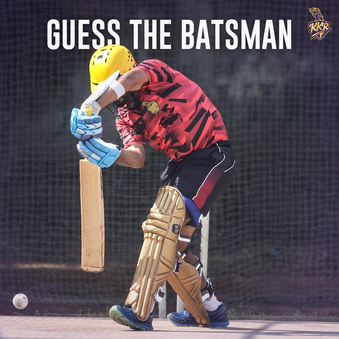 We guess the helmet  gives it away easily   Guessed the knight yet?  #GuessTheKnight #KKR #Cricket #IPL #Saturday<br>http://pic.twitter.com/EsSHCHeLWc
