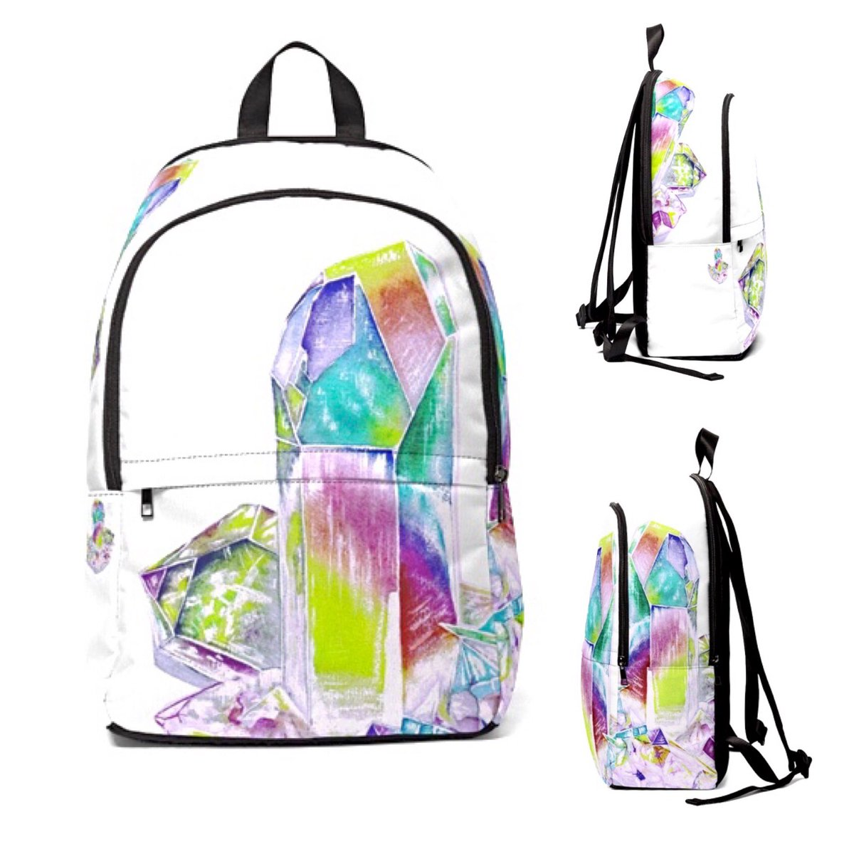 Mochila  multicolor unisex backpack white multicolor quarz , sports accessory, bag,studios, bag, wallet, made to order, watercolor …http://illustration.miyoarte.patternbyetsy.com/listing/817316…pic.twitter.com/uPFBvi1GzV