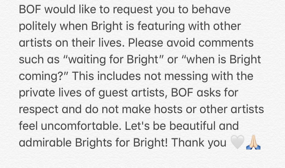 Thread translation for interfans. #AseanYouthshowcasexBrightWin #bbrightvc twitter.com/allbrightvc/st…