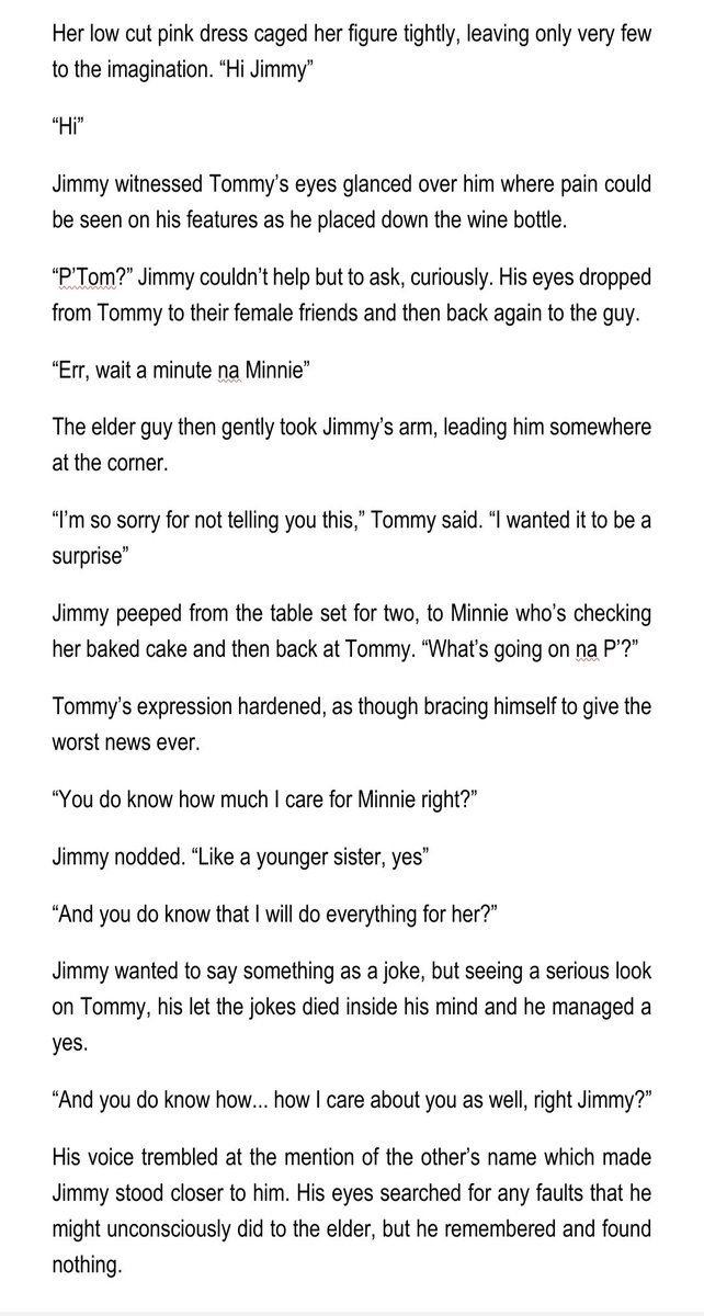 [Short fanfic] 𝑻𝒆𝒍𝒍 𝑵𝒐𝒘 (2/7)  #Mii2  #Mii2fanficpic.twitter.com/HnFedpC6Jx  by ❥ℍ𝔸ℝ𝕌ℍ𝕀❥