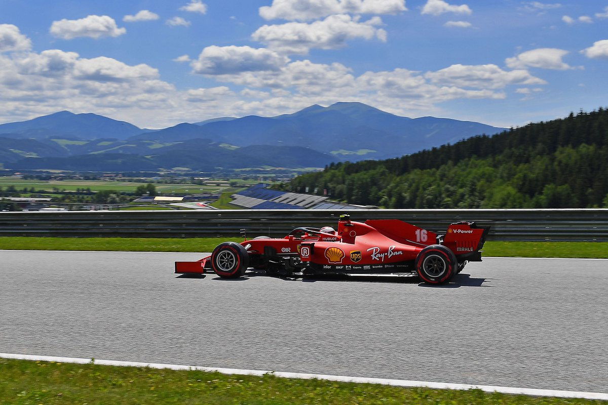 #Charles16 setting 1:04.703 and #Seb5 1:04.851. 18 minutes to go 🏁 #FP3 #AustrianGP🇦🇹 https://t.co/aRusQnv2uC