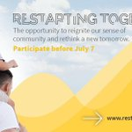 📞 OPEN CALL FOR #RestartingTogether! Do you have a global and innovative solution that helps mitigate the impact of the crisis for those who were most affected? Apply until july, 7th at https://t.co/Gl6QhH6kYE