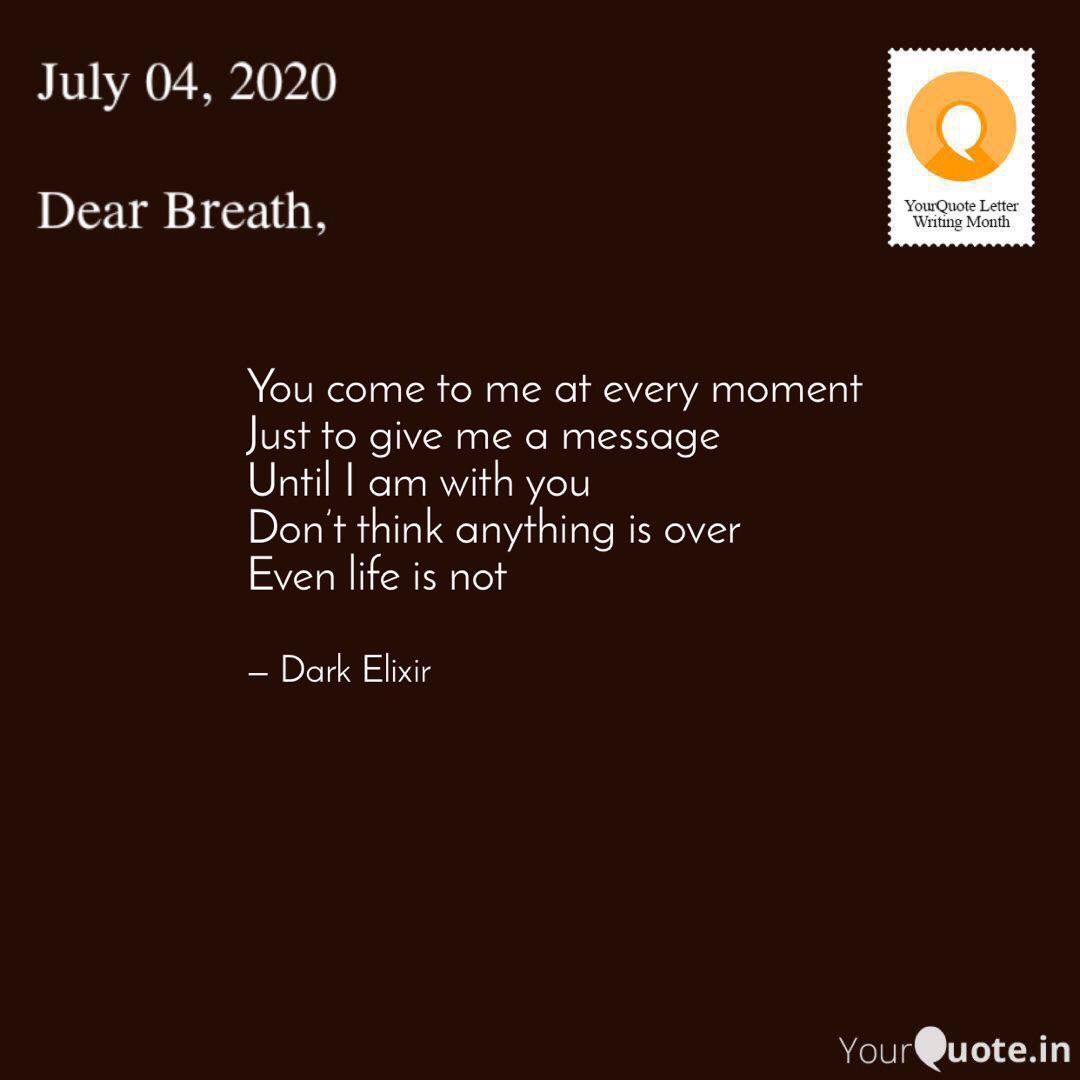 Welcome to the Day 4 of #YoLeWriMo   #letters #dearbreath  #yourquote #quote #stories #qotd #quoteoftheday #wordporn #quotestagram #wordswag #life #wordsofwisdom #inspirationalquotes #inspiration #writeaway #love #thoughts #poetry #instawriters #writersofinstagram #writersofigpic.twitter.com/Hz1HILvAWq