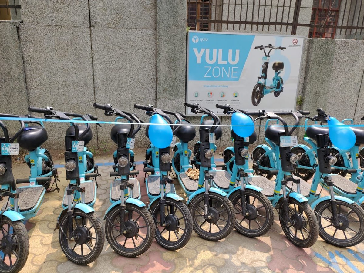 Tulsi Joshi On Twitter Yulu Zone Launched Yulu Zone In Sec 9 Rk Puram Will Provide The Residents With An Eco Friendly And Most Safest Way Of Commute Yulu Bikes Is Committed To Solve