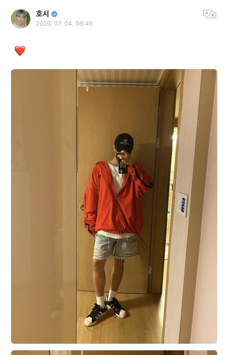 From #HOSHI  #HOSHI:  @pledis_17 #SEVENTEEN pic.twitter.com/IPVWOkEx1K  by 全圆佑🌻༄‧₊˚.⇆