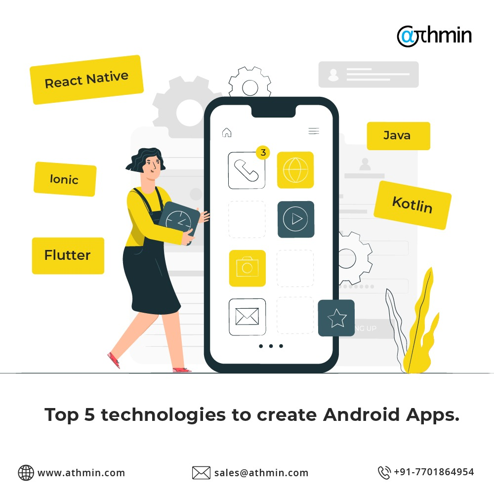 Start your startup's journey with developing an android application. Talk to us! #programming, #prgrammingtehnologies #Mobileapp #Androidapp #Kotlin #Flutter #Reactnative #Javapic.twitter.com/IVidiPRJo0