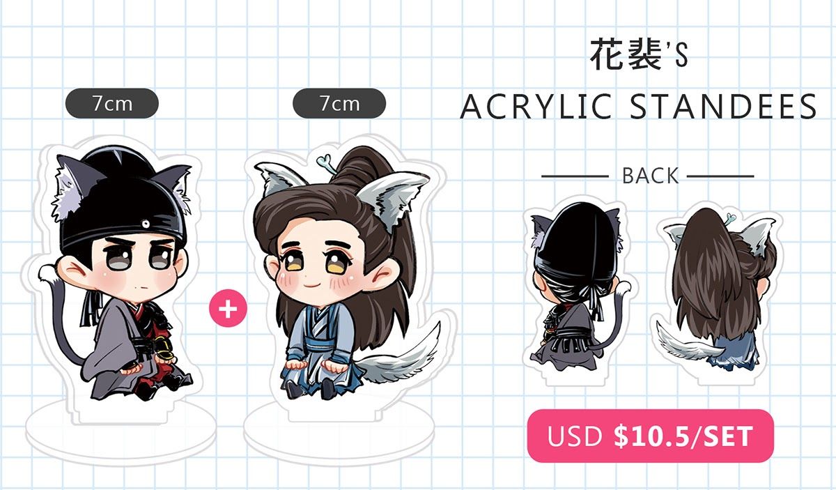 RTThanks))) Hi ,this is 花裴's Acrylic standees & 井遠's Acrylic charmings pre-order form.  If you're interested these products, please fill this form!!! https://forms.gle/fPGZuw2qA1vfiwX69…  thank you!!! pic.twitter.com/UaSIrkdrK1