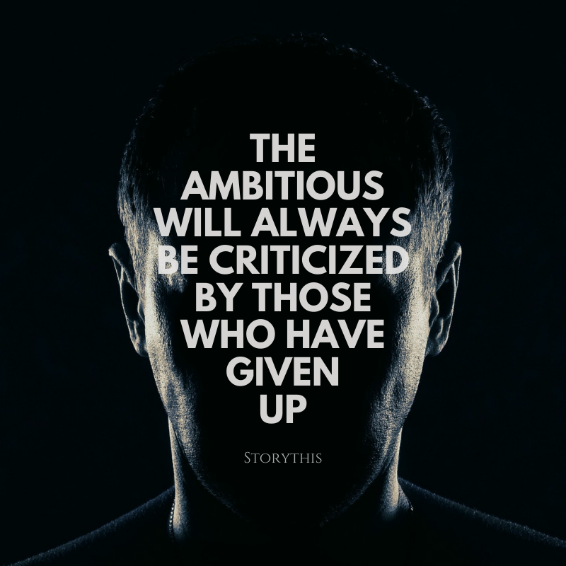 Criticism may hurt our ego, but it helps our character grow.  But also remember: We don't have to listen to our critics all the time. No one can force us to change anything about how hard we work for our goals.  http://storythis.com  #hardwork#commitment#pushyourself pic.twitter.com/woxIOrq18W