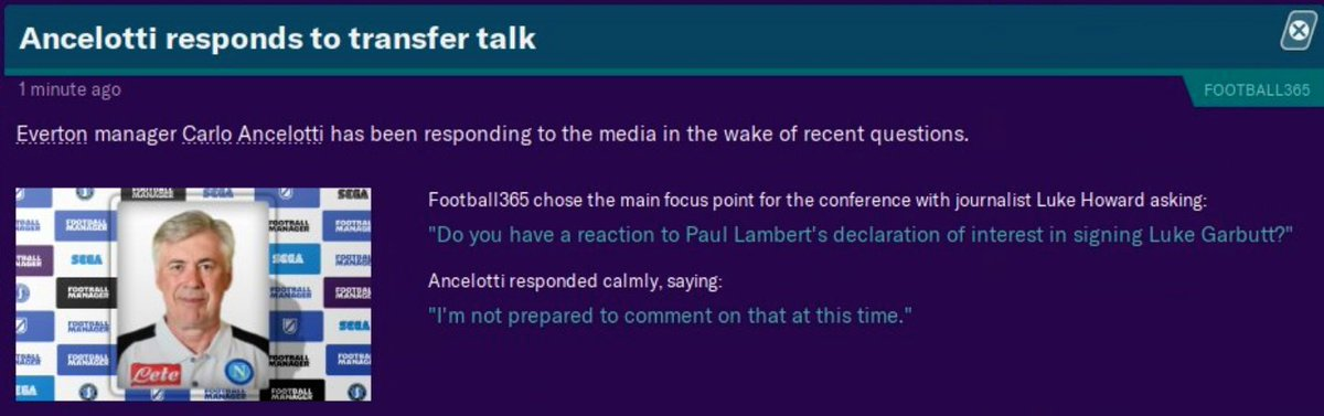 Out Of Context Football Manager (@nocontextfm1) on Twitter photo 04/07/2020 11:00:21