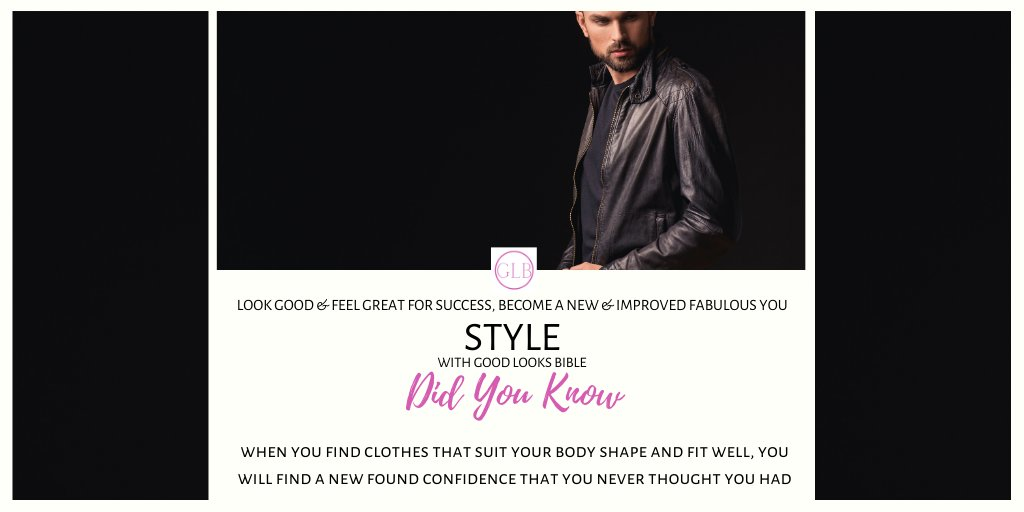 Hey #goodlooking! #DidYouKnow - when you find clothes that suit your body shape and fit well, you will find a new found confidence that you never thought you had.  #SaturdayThoughts #Followme for more #Style tipspic.twitter.com/YjBa3loTXo