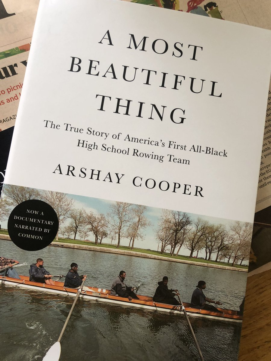 Very excited to have my copy of #AMostBeautifulThing arrive this morning. Hoping I can ask you to sign it someday @arshaycooper @50eggsinc #seethefilmbuythebook https://t.co/ShqRbm2IH3