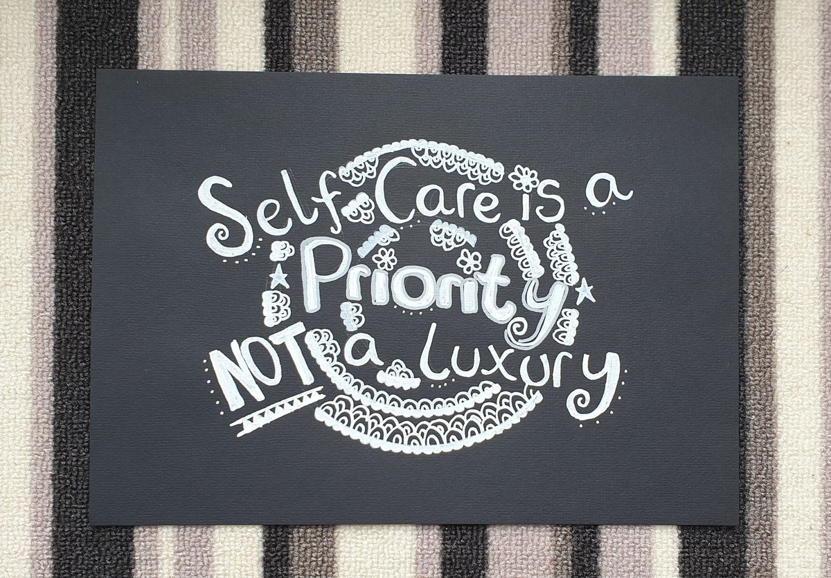 #SelfCareSaturday 🌻 Look after yourself today, you deserve it 💜  Day 42 of #100DayProject   #SelfCareQuotes #SelfCare #SelfCareMatters #Art #Artist #Inspiration #ArtMakesMeHappy #SelfCareArt #PositivityFairy #Positivity #PositiveMessages #Drawing #Doodle #Doodles #Monotone https://t.co/E1O6GhjsK4