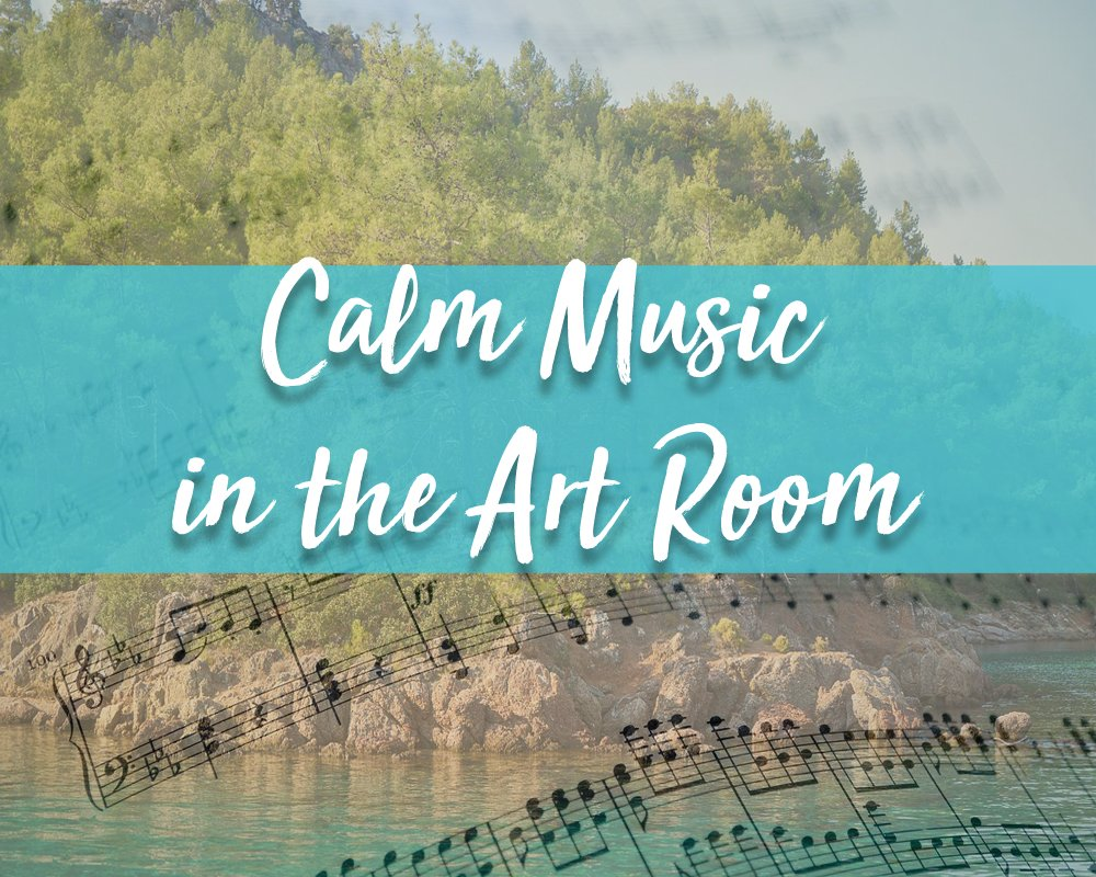 Calm music for in the art room ready for next term. http://ow.ly/C6Jo50Apgyl pic.twitter.com/7Ri4AD3SKO