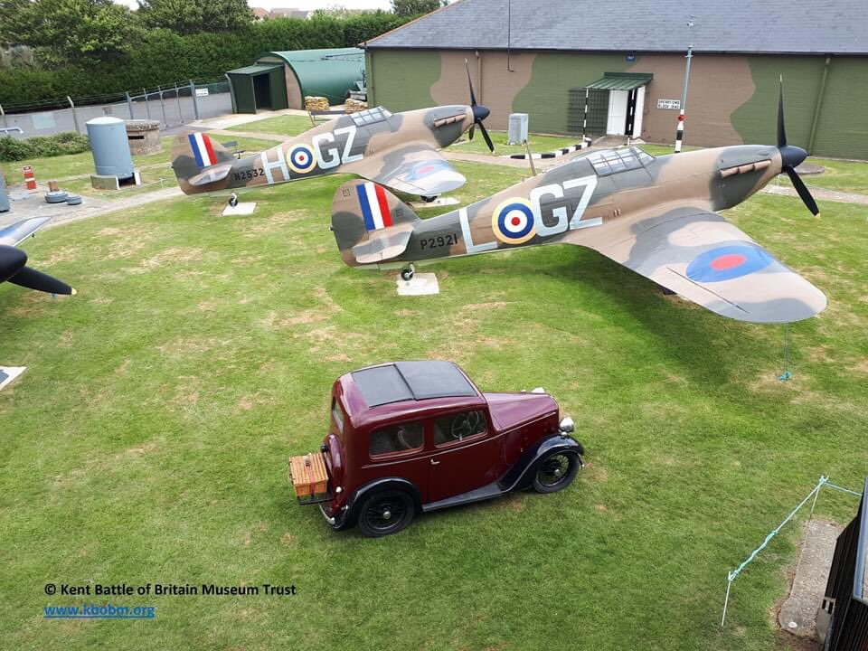 The day has finally arrived! The doors will open for the 2020 season at 10:00am this morning- we can't wait to see you all! Please retweet and help spread the word- thank you @thehistoryguy @TallyProject @SpitfireBigginH @FlyPastMag @Memorial_theFew