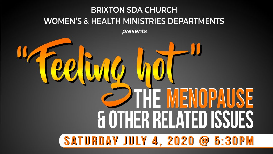 FEELING HOT! Join us this Saturday 4 July as we discuss the #menopause. All are invited to the discussion. Check link in bio. . . . . . #perimenopause #womenshealth #health #women #hormones #menopausesupport #menopausesymptoms #weightloss #menopauserelief #selfcare #wellness https://t.co/lJ3pfL3Dpt
