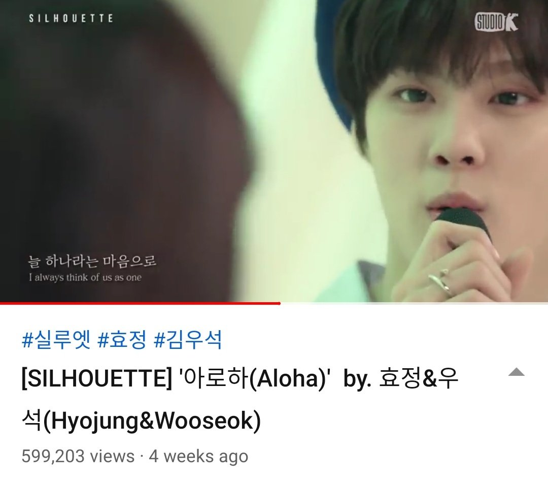 800 views more to go for 600k views. Watch Aloha cover and fall in love with Wooseok's voices, visual and stares lol  https:// youtu.be/CKiKnJOp1bQ    <br>http://pic.twitter.com/2uM6pCqd6U