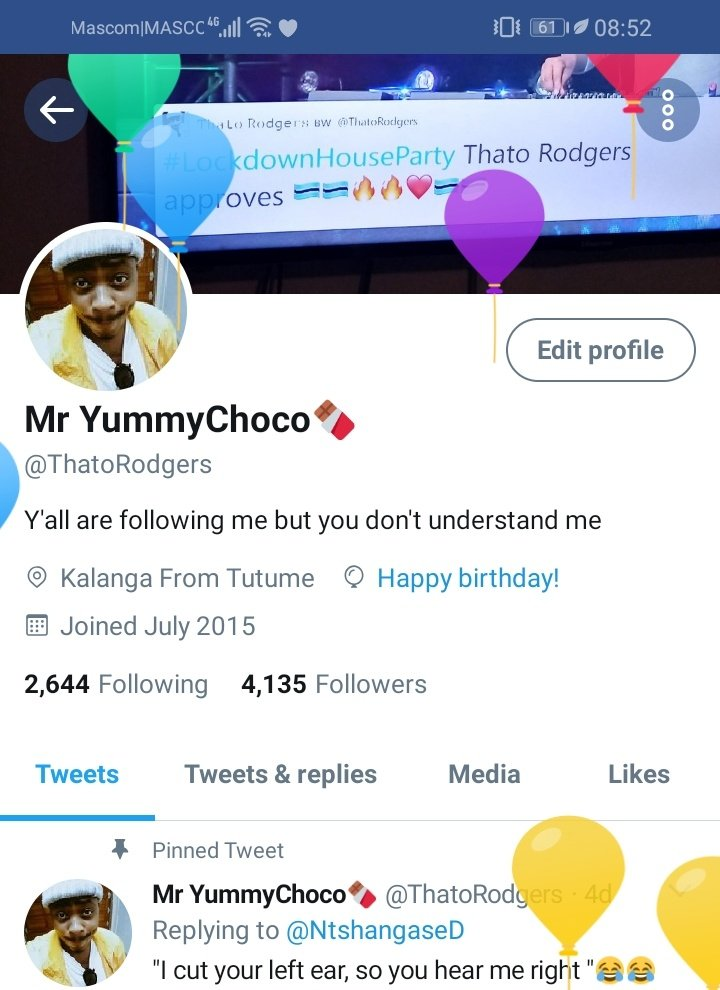 Few years then I join the fossil gang. 😂 You know what matters the most? Is that I'm in a happy space I'm healthy, whole of my family is still alive ❤😍🙏🏾 God has plans for me I really  feel blessed kafa love life e monate koore eish 😅❤Tanki Bra God🙏🏾 HAPPY JULY 4th https://t.co/Ypf2fo7yd1