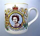 LOYAL After Irish Gran died, Grandpa kept everything in the house exactly as it had always been. Once we found him very carefully dusting one of Gran's precious silver jubilee mugs. He was smiling at the Queen's face, remembering how Gran was such a #patriot at heart. #vss365