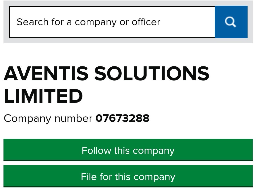 We are already pursuing a Government over the £108m PPE contracts it said it entered into with a chocolatier and a supplier of pigeon netting.  I know there's only so much of this weirdness you can take but here are two more.  First Aventis Solutions Limited. https://t.co/6mUfCxdkRT