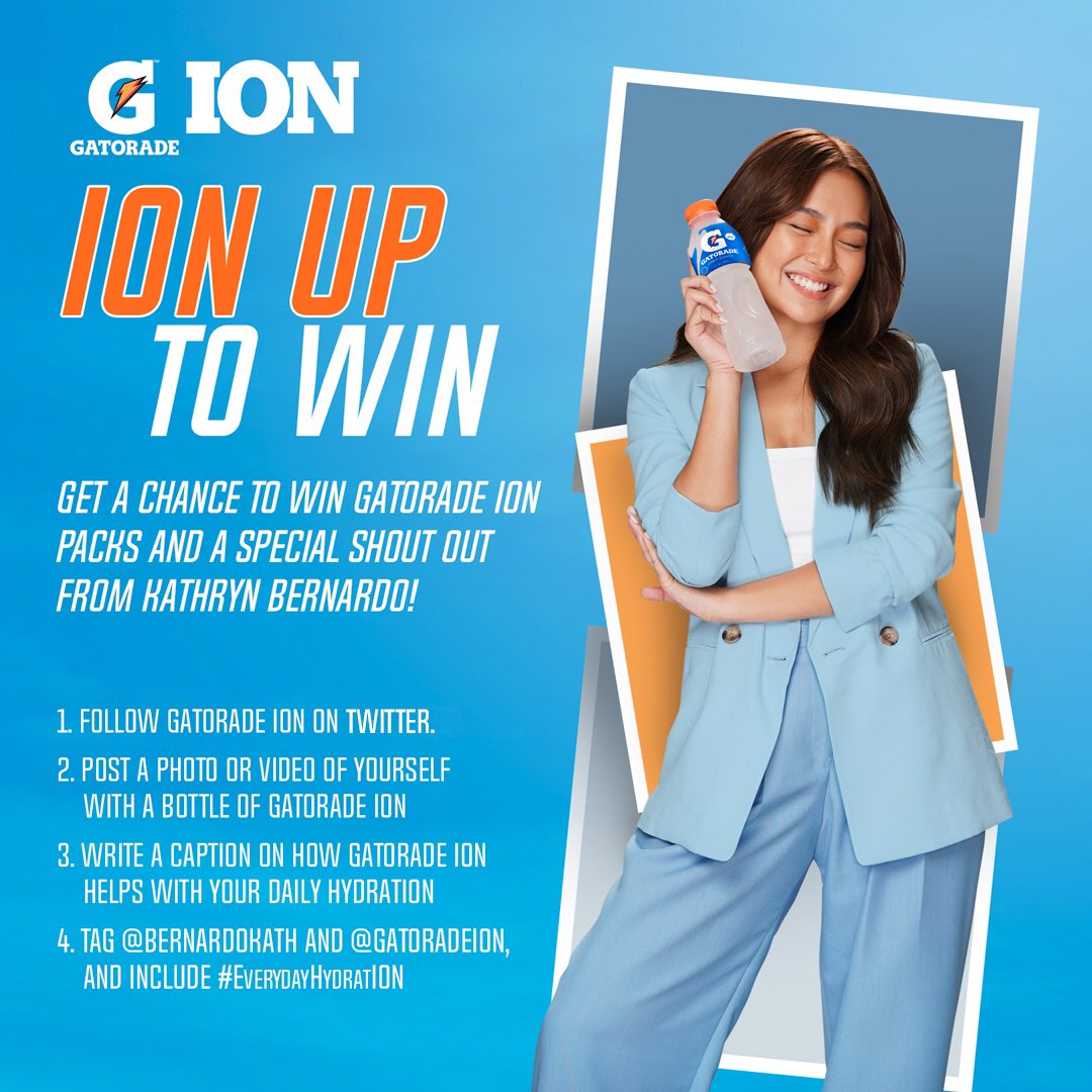 What are you waiting for? Join now and show us how you hydrate and ion up! 😊