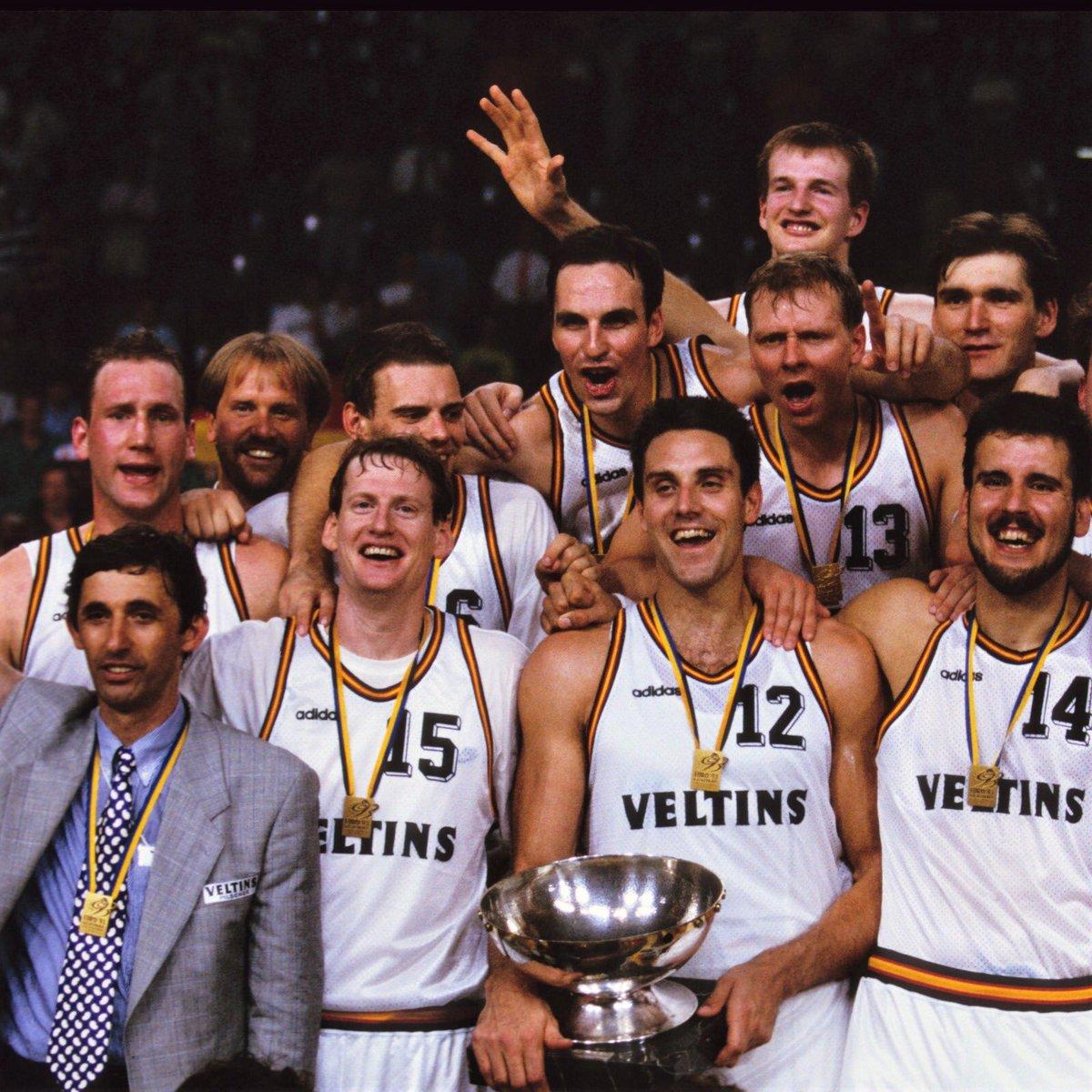 #Throwback ✨ HEUTE vor 27 Jahren holte die Deutsche Nationalmannschaft GOLD bei der Europameisterschaft 1993 im eigenen Land! 🤩😍✨🏆🥇