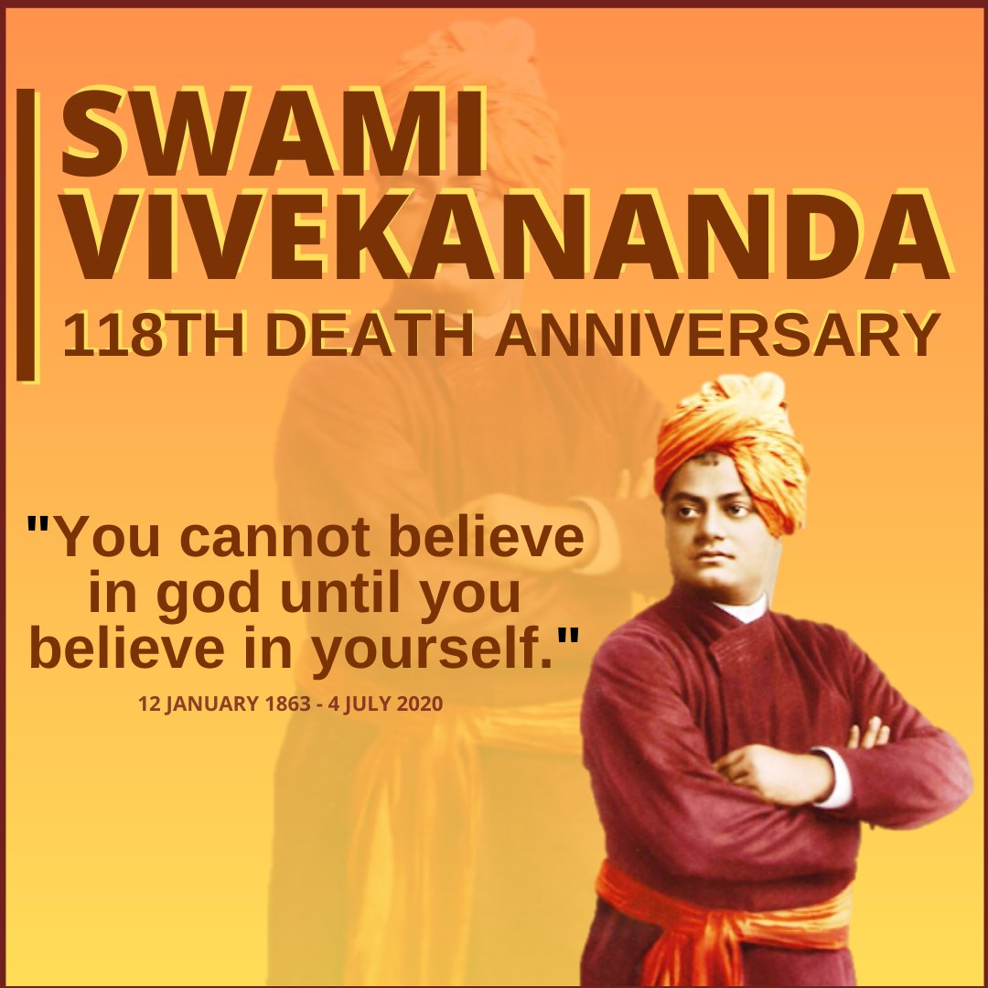 Remembering the great Philosopher and Nationalist on his 118th death anniversary. . #asdadmediasolutions #asdnews #SwamiVivekanandaJi #SwamiVivekanand  #118deathanniversary #deathanniversary #hindumonk #July4th #swamivivekanandajayanti #newsupdate #dailynews #trending https://t.co/5gRObOgxQr