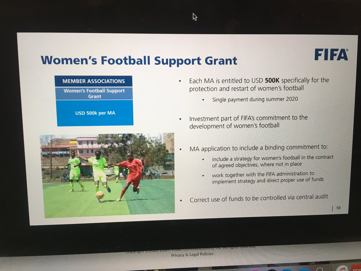 STRUGGLING Women's game! AWCON cancelled same year @FIFAcom is handing $500,000 grant to MAs specifically for women's football. .@CAF_Online announced a new competition; continental champions league. Functionality? What's the future for the women's game in #Africa post-Covid?
