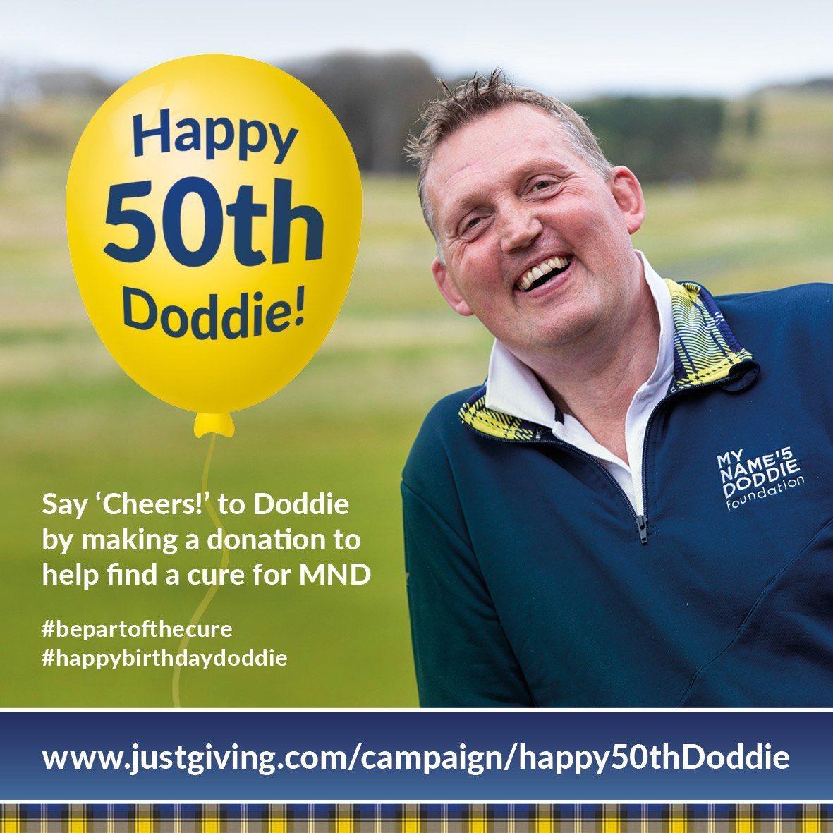 Happy 50th @DoddieWeir5 ❤️ Legend justgiving.com/campaign/happy…