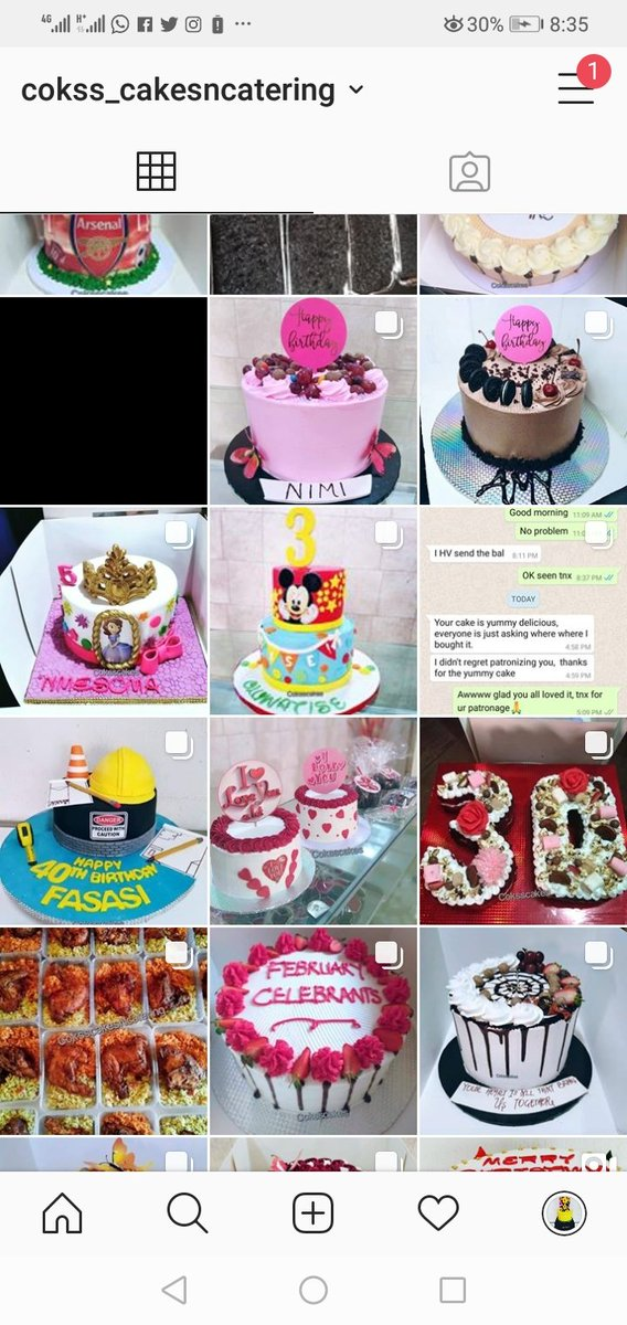For your yummy cakes for all occasions, small chops food packs and outdoor catering @cokss_cakesncatering is your best plug #Roksiesellershub<br>http://pic.twitter.com/XixIJHgFmz
