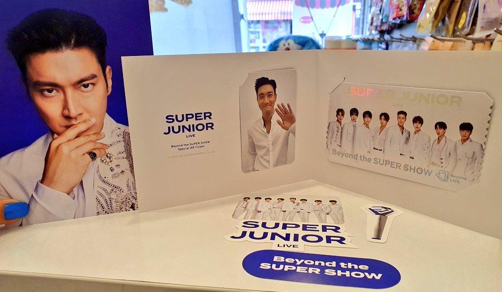 #Beyond_LIVE #SUPERJUNIOR #siwonchoi #시원 #최시원 비욘드 AR티켓 〰️💙 https://t.co/gBd6Y42ZuF