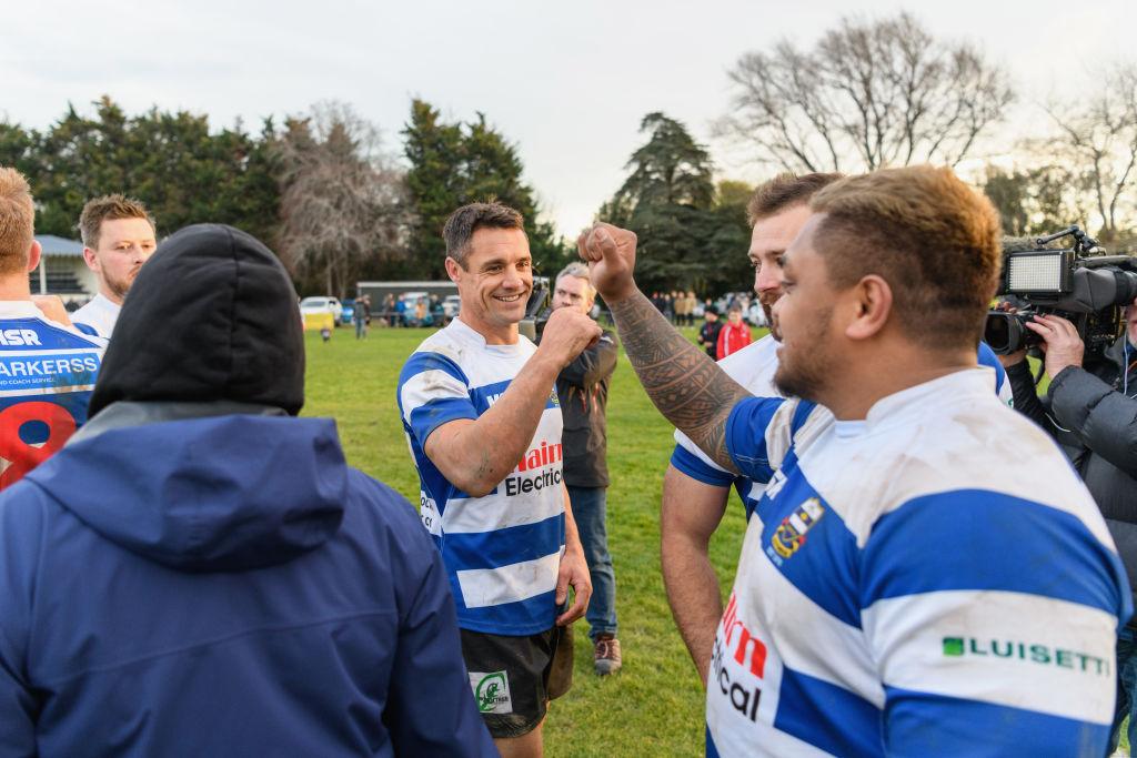 RT @RUGBY_REPUBLIC: NZの英雄カーターが原点で活力注入 故郷のクラブで6年ぶりにプレー https://t.co/6YQae3U8kB #ラグビー #ダン・カーター #サウスブリッジ https://t.co/hCBFjxHQQd