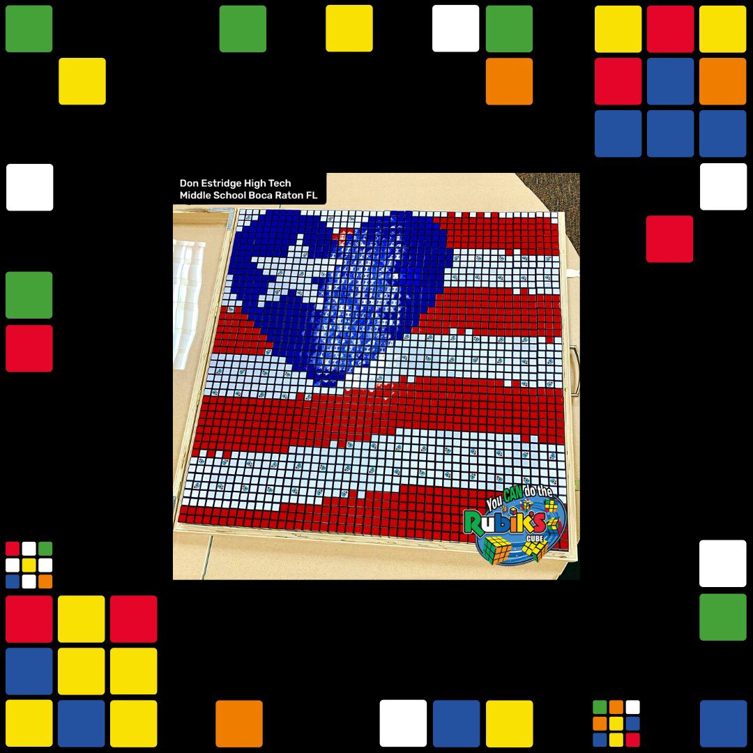 Here's some more! 🇺🇸 #4thOfJuly #FourthOfJuly #Happy4thOfJuly #IndependenceDay #HappyFourthOfJuly #RubiksCube #CubeAtHome #AdventureEveryTurn #ShareYourSolve #RubyRubiks #CatchTheCube 2/2 https://t.co/PcBLPxh78P