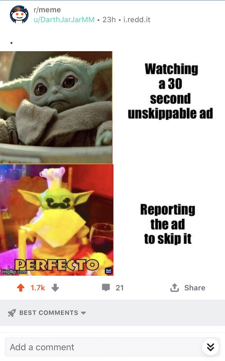 My meme got 1.7 upvotes