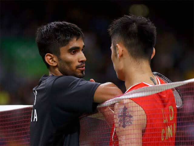 Two time Olympic champion Lin Dan is hailed as the greatest shuttler. (Credits: Twitter/ Kidambi Srikanth)