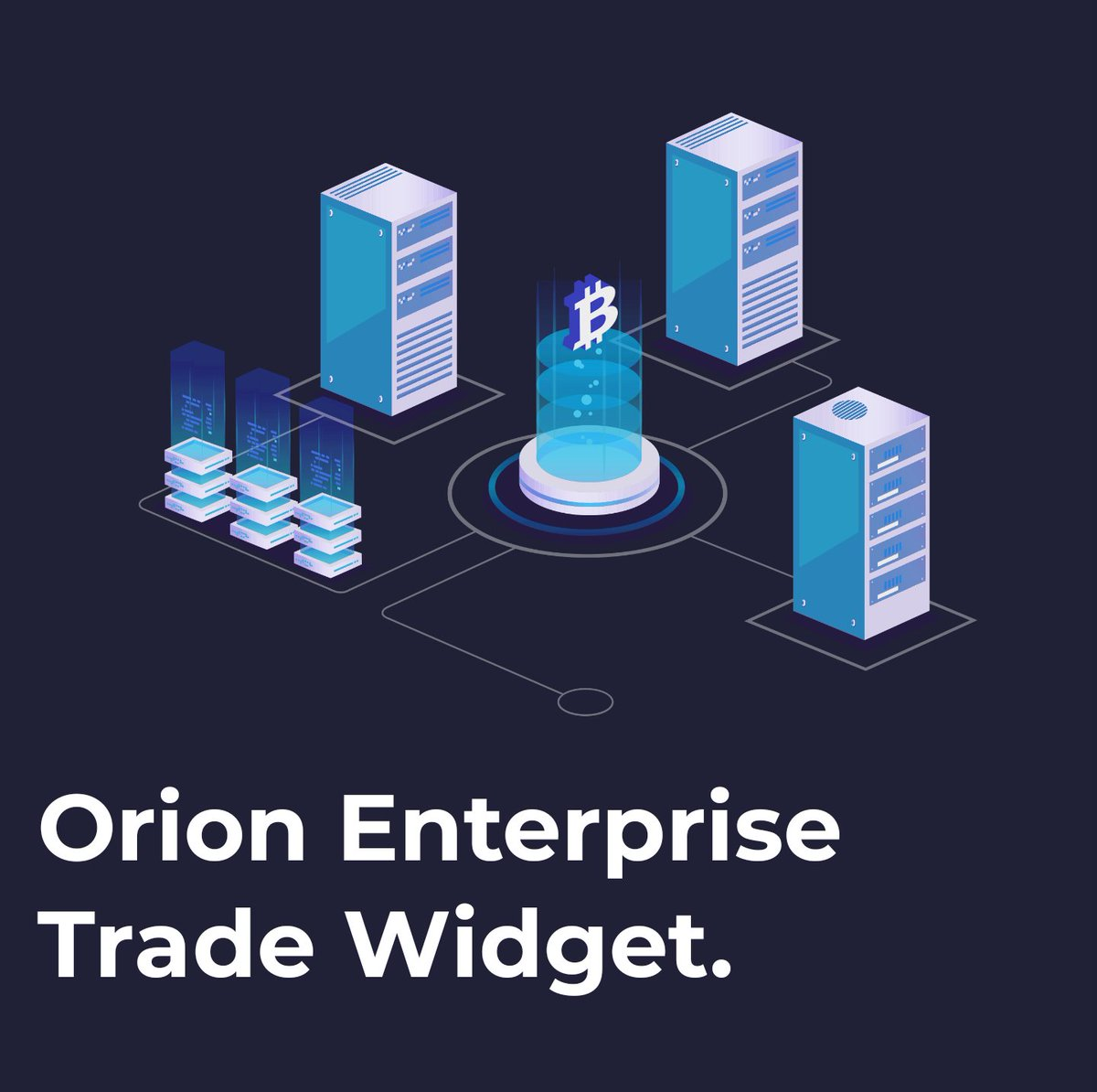 Access, opportunity. With our #Orion #Enterprise #Trade Widget, there is no need for non-#blockchain clients to visit exchanges. Find out more: orionprotocol.io/enterprisetrade