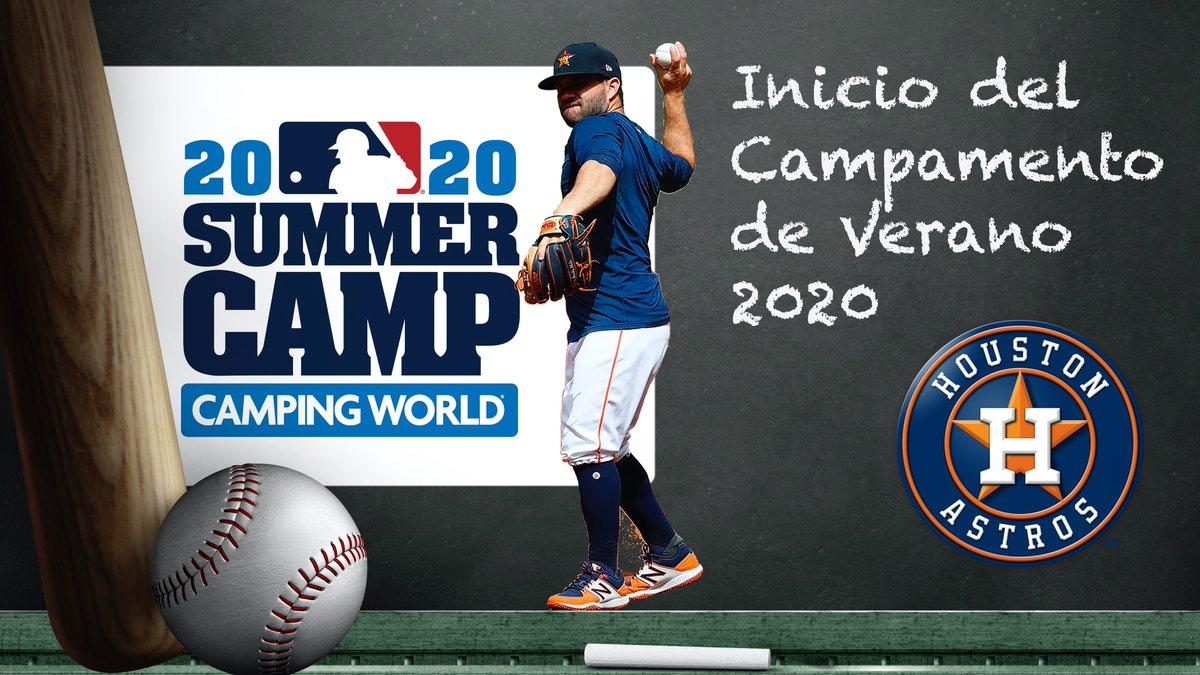 Summer Camp 2020 @LosAstros @astros @MLB_Mexico @MLB https://t.co/LUtaFLKrfB