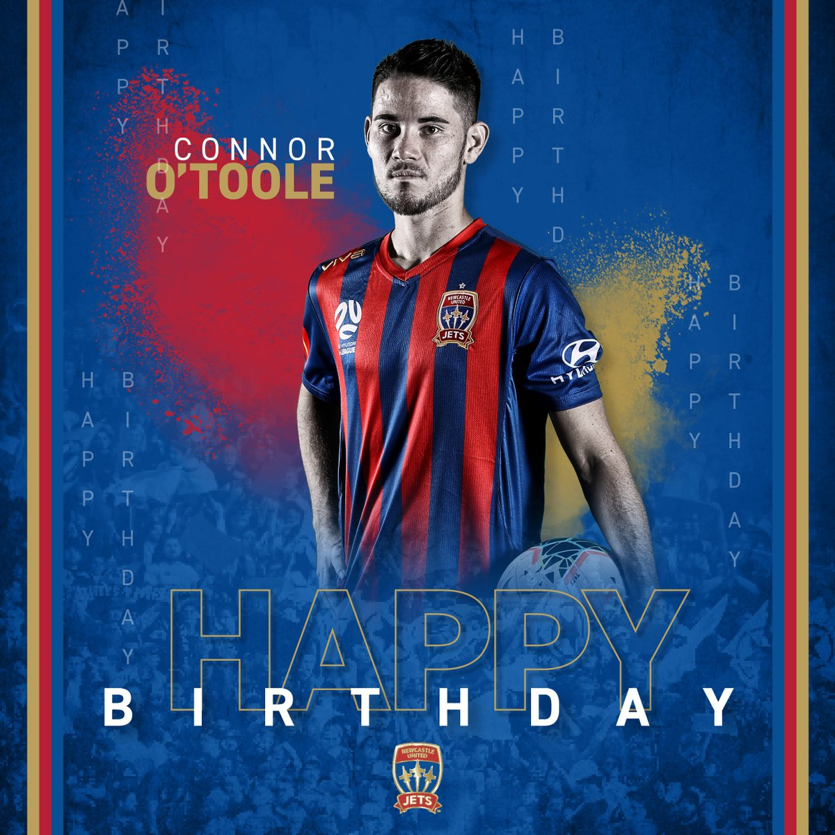 Happy birthday, @ConnorOT! #MadeOfNewcastle https://t.co/5TyDKsTcfo