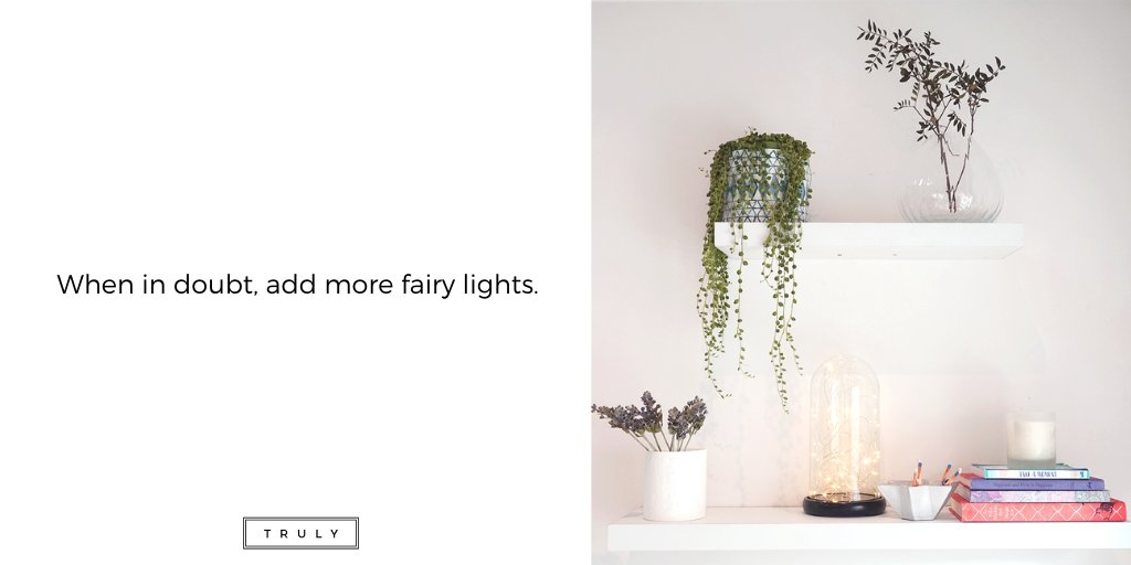 https://bit.ly/TrulyDomeLights  #Truly #TrulyLifestyle #TrulyFamily #Shelfie #HomeDesign #HomeStyling #HomeInspo #HomeDecor #HomeSweetHome #DesignInspo #HomeAccessories #InteriorDesign #Vase #FairyLightspic.twitter.com/JewzApnujW