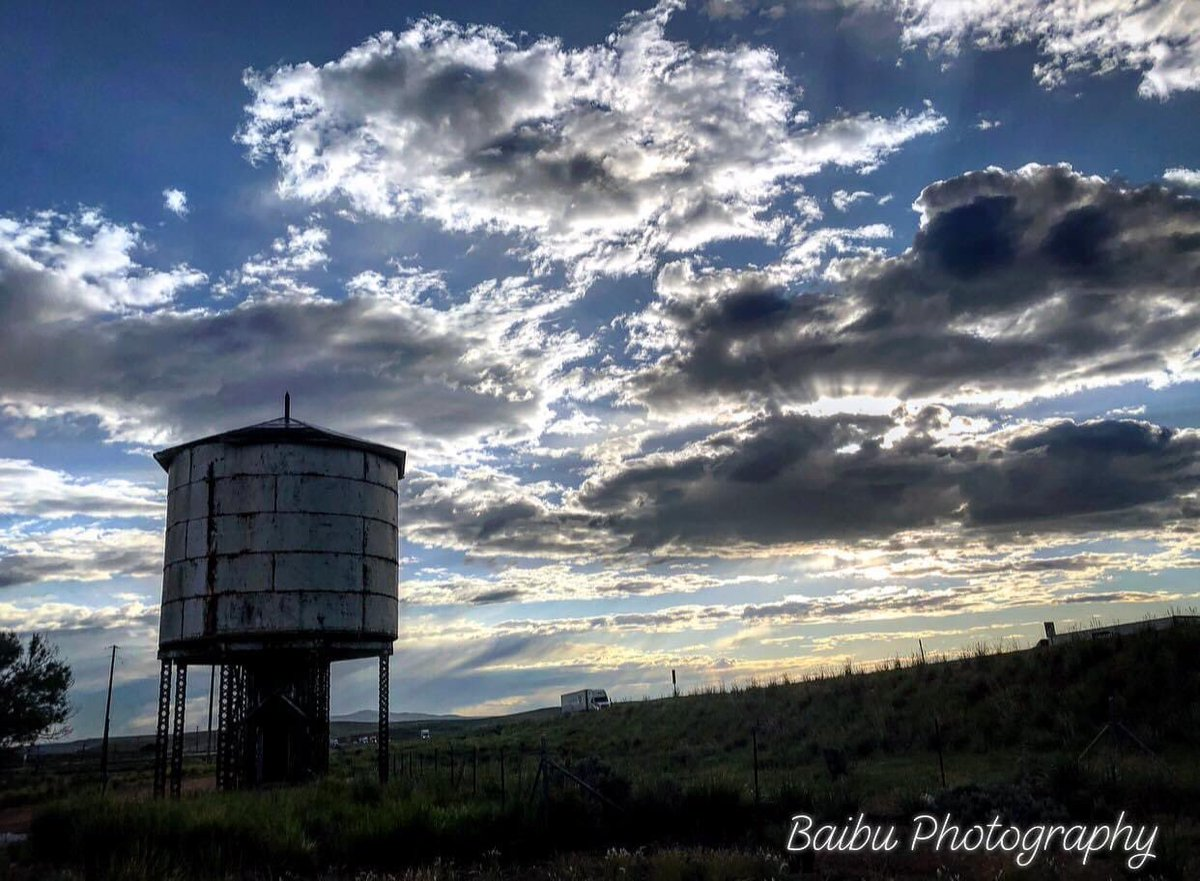 #sunrise #abandoned #watertower #morningmotivation #clouds #beautiful #photography #baibuphotography #landscape #utah