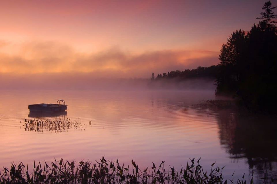 Misty Morning Sunrise - Roger Simmons Quality Art, Great Value, Ethically Done This beautiful image from Roger is available now on a huge range of incredible products, all with free UK postage #lens2print #firstforart #sunrise #sunrisephotography #doelake #pastelcolours #sale