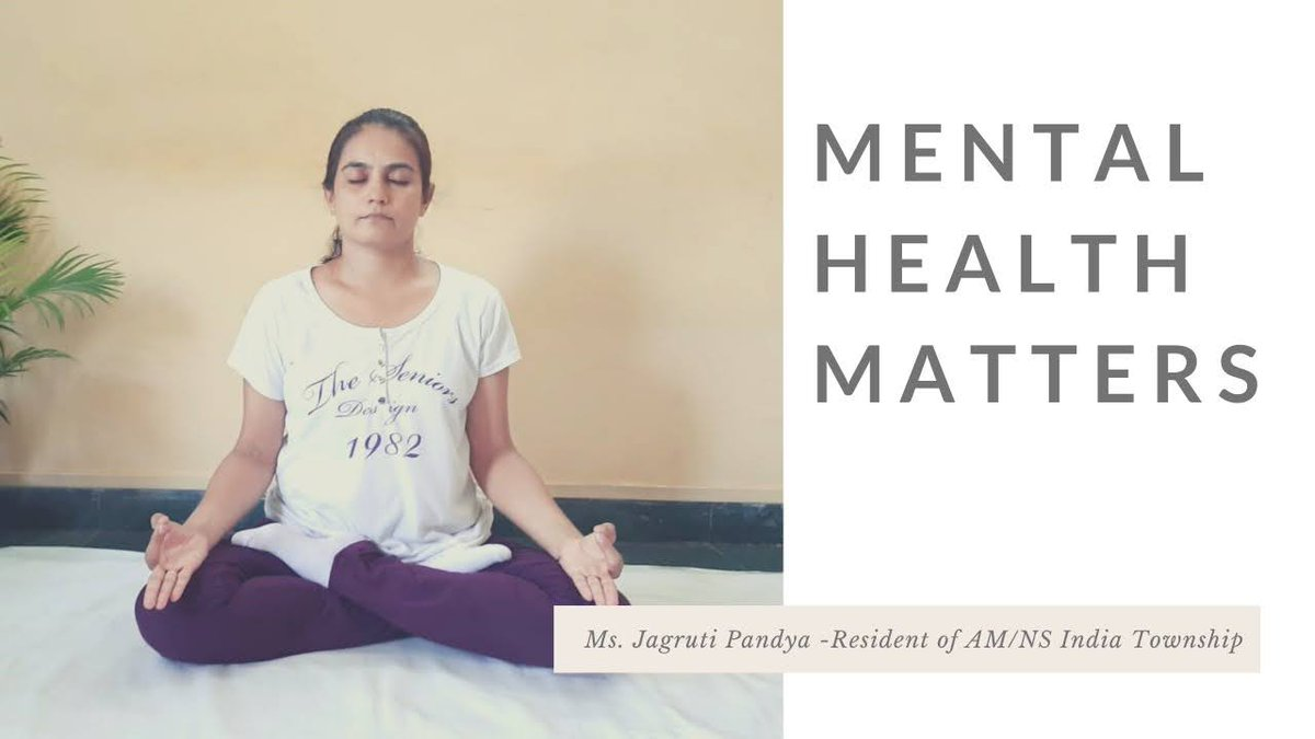 Meet Jagruti Pandya, a resident of AM/NS India township, who practices yoga every day. We at AM/NS India encourage our employees to maintain a healthy lifestyle by offering weekly yoga classes at our premises. #MentalHealthMatters  #SmarterSteelBetterWorld https://t.co/gtTX89CnZJ