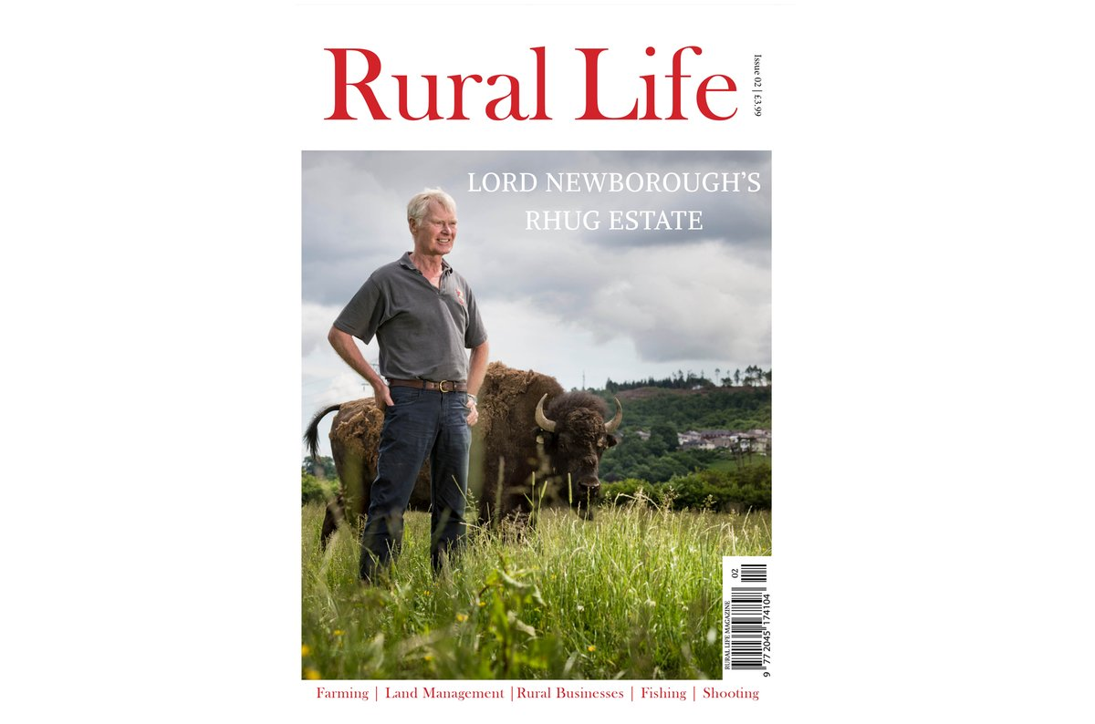 The Summer Edition of Rural Life is Now Out! Featuring Lord Newborough's Rhug Estate on the cover & showcasing the #countryside within its pages. Read either Online for FREE http://joom.ag/mC4C on Readly http://bit.ly/2vri14a or in Print http://bit.ly/2vslLT2 #RuralLife pic.twitter.com/B2O1ZPQRbL