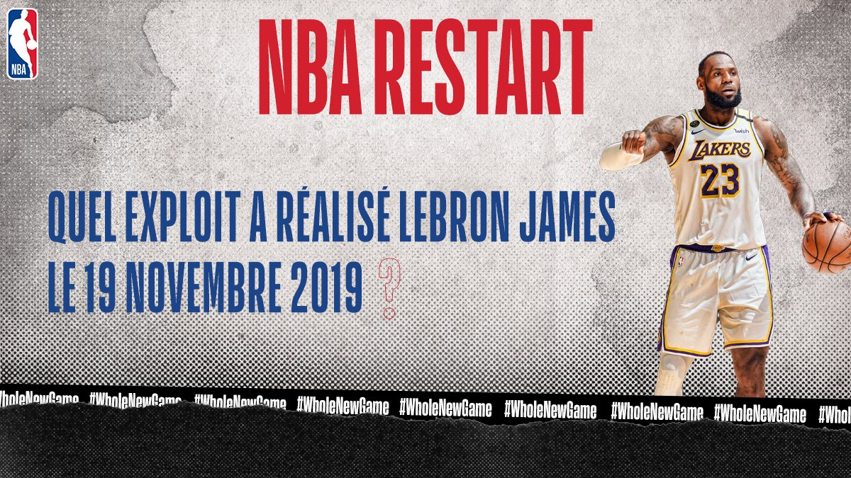 💡 NBA RESTART   👑 👑 👑  #WholeNewGame https://t.co/lKHLUrLSRi